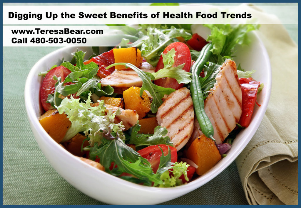 Digging Up the Sweet Benefits of Health Food Trends | Teresa Bear